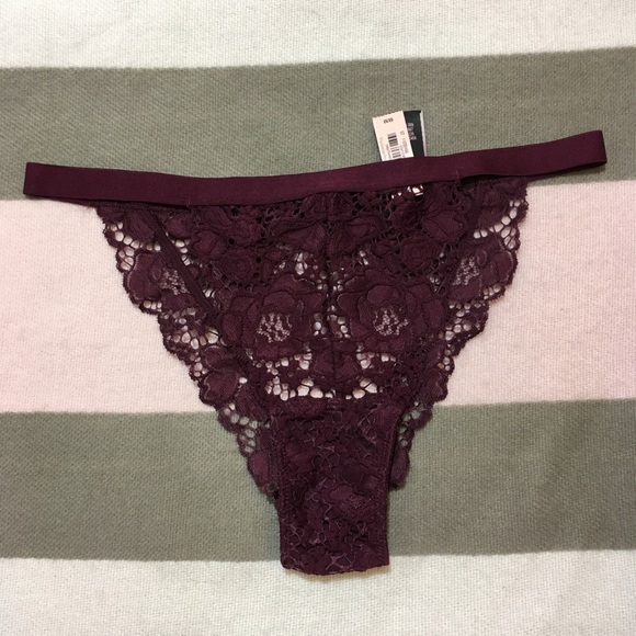 279dda13ad89 Victoria's Secret Intimates & Sleepwear   New Vs Peek A Boo Burgundy ...